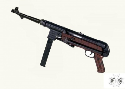 MP 40 METAL AND WOOD AGM SOFTAIR