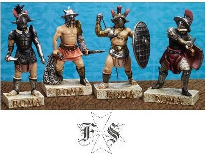 SET MINIATURE GLADIATORI